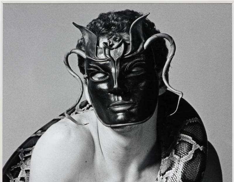 Snakeman 1981 by Robert Mapplethorpe 1946-1989