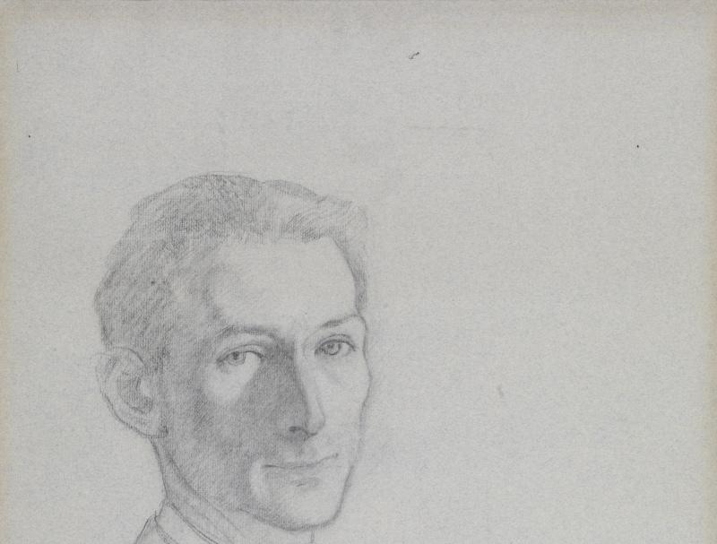 BALTHUS 1943.Autoportrait