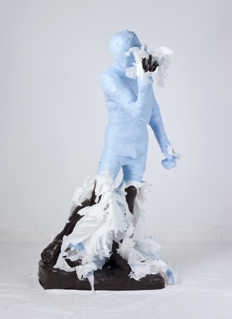 Unwrapping Rodin (Blue) 04