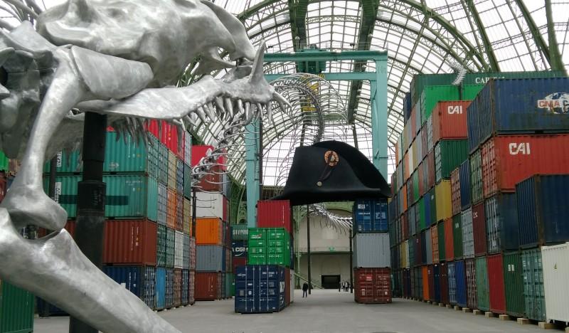 Monumenta,expo,2016,GrandPalais,Huang yong ping , Paris