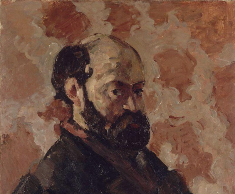 cezanne autoportrait