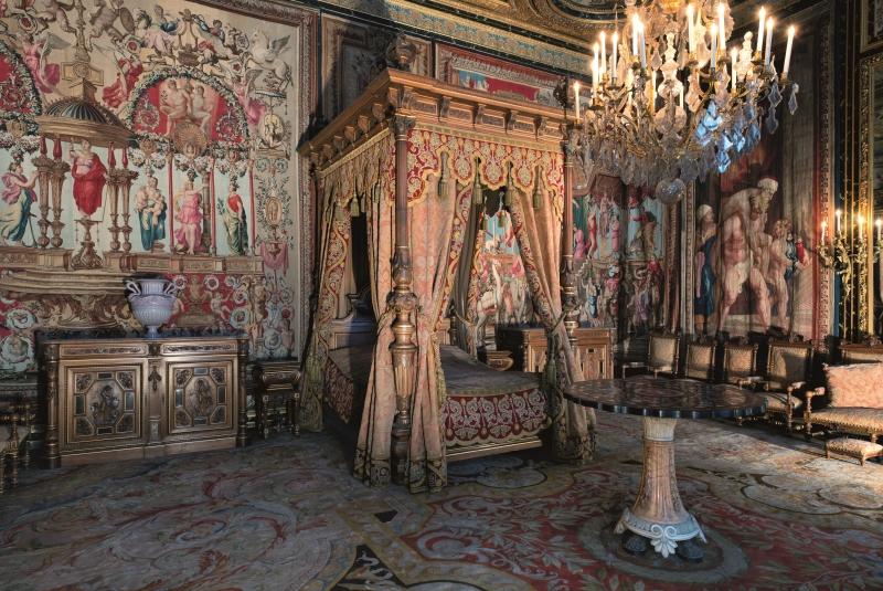 Chambre d'Anne d'Autriche © Béatrice Lécuyer Bibal