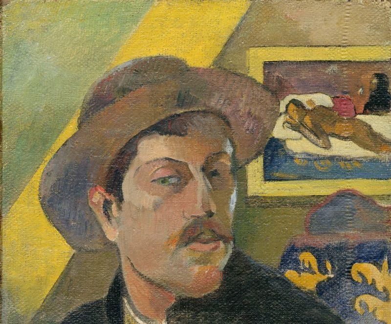 gauguin autoportrait