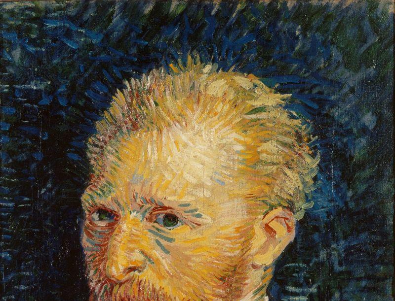 van gogh autoportrait
