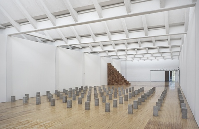Carl andre exposition