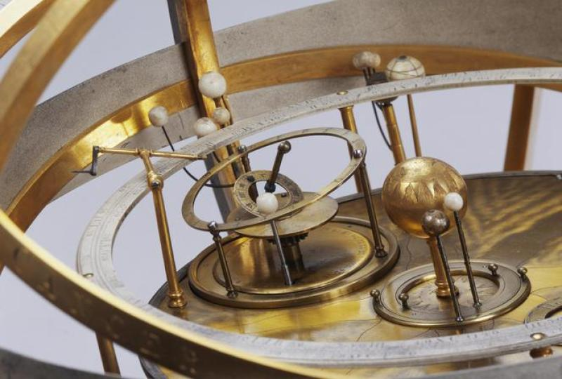 Planétaire, 1725-1752 Thomas Heath, Londres Astronomie /Cosmographie