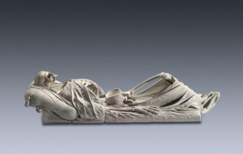 Skelett von H.C. Asper
