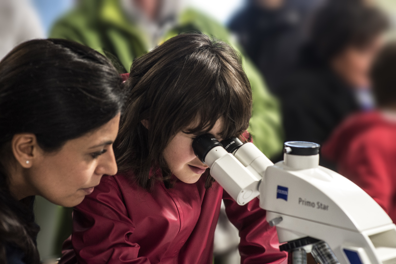 micro-Biologie et chimie des microbes : découvrir des organismes, leur diversité et leur importance pour l'homme et son environnement à travers des ateliers ludiques.