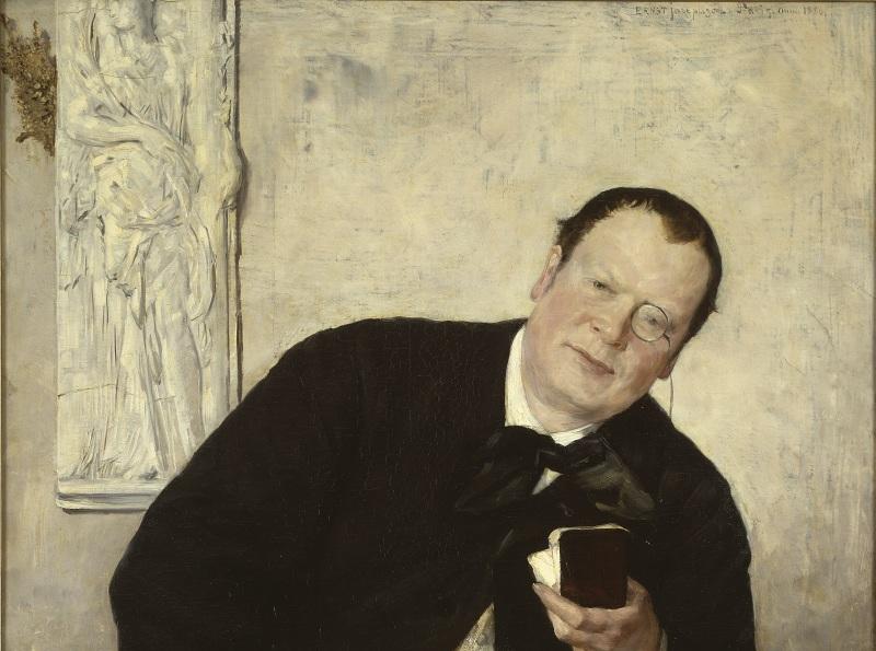 Ernst Josephson: Journalisten Godfrey Renholm. NM 1545
