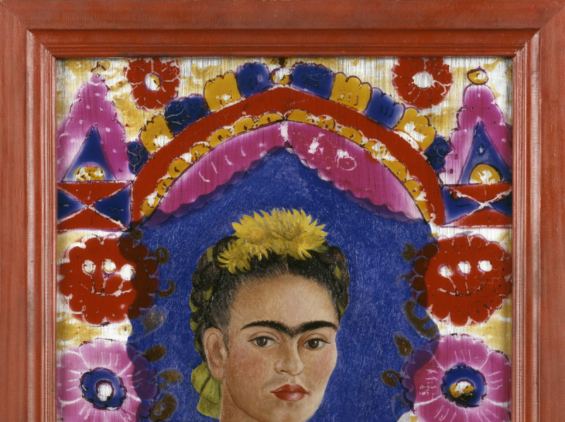 Kahlo Frida (1907-1954). Paris, Centre Pompidou - MusÈe national d'art moderne - Centre de crÈation industrielle. JP929P.