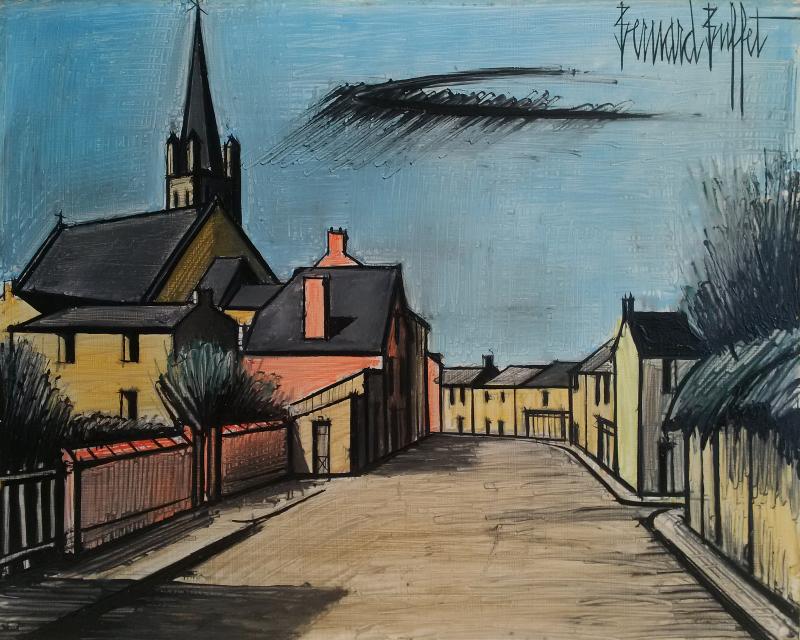 le-village-1984-hsp-33-x-41-cm