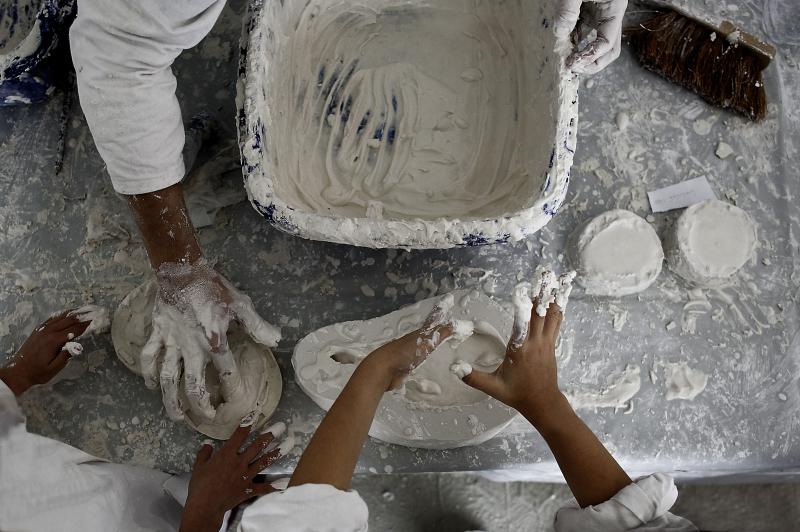 Réaliser une copie de fossile en plâtre et s'initier à la  paléontologie : découverte des grandes étapes de la vie sur Terre…
