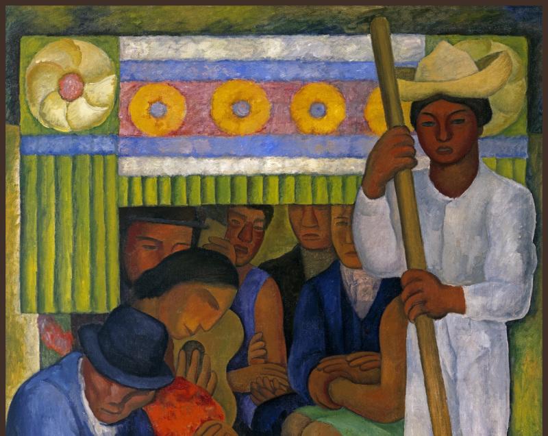Rivera Diego (1886-1957). Mexique, Mexico, Museo Dolores Olmedo PatiÒo.