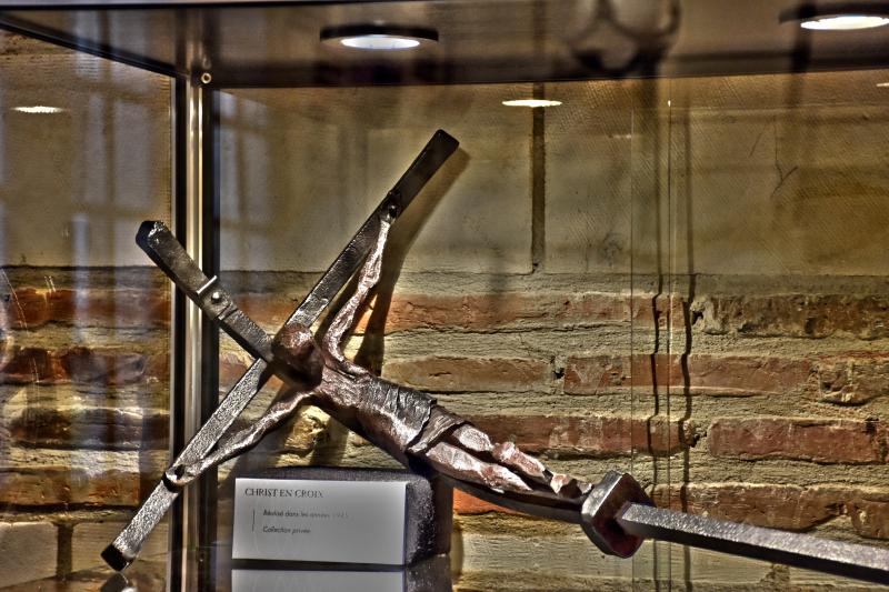 Exposition Richard Desvallieres - Dialogue du fer avec le feu - Maison de l'outil et de la pensee ouvriere - Troyes - jusqu'au 30 avril
