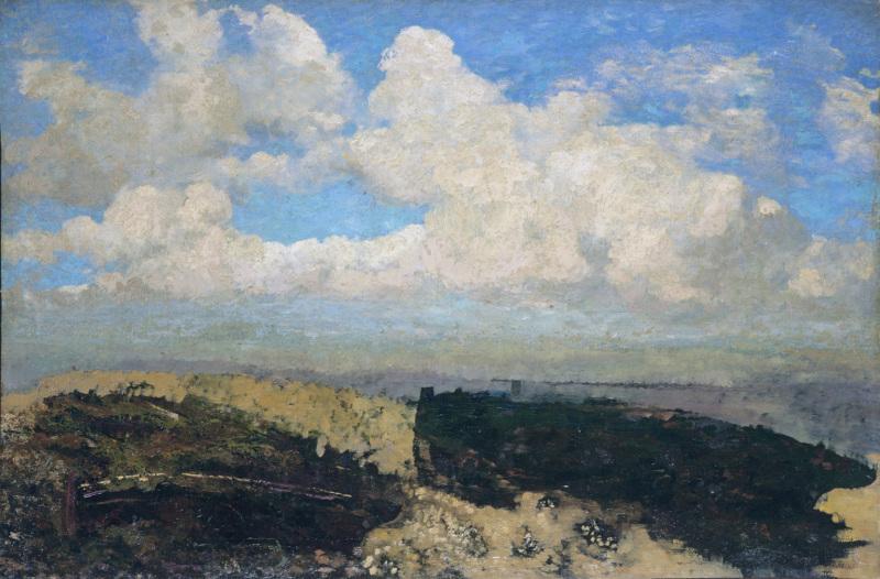 La nature silencieuse, paysages d'odilon redon à la Galerie des Beaux Arts