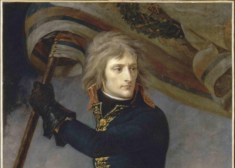 Bonaparte au pont darcole le 17 novembre 1796