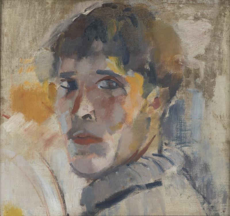 RIK-WOUTERS - Portrait of Rik - Musée Royal des Beaux Arts en Belgique - Bruxelles