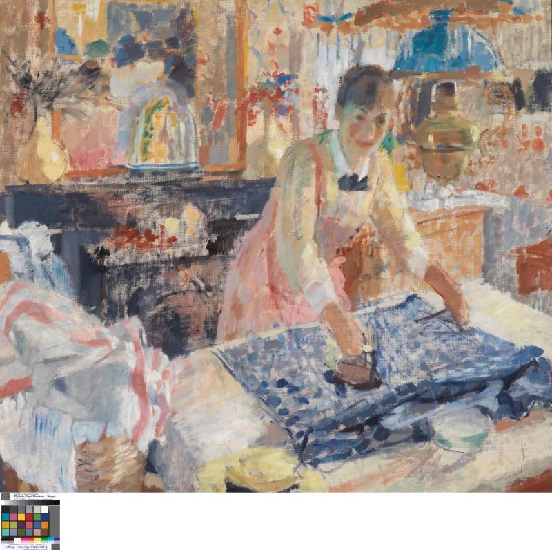 RIK-WOUTERS - Ironing - Musée Royal des Beaux Arts en Belgique - Bruxelles