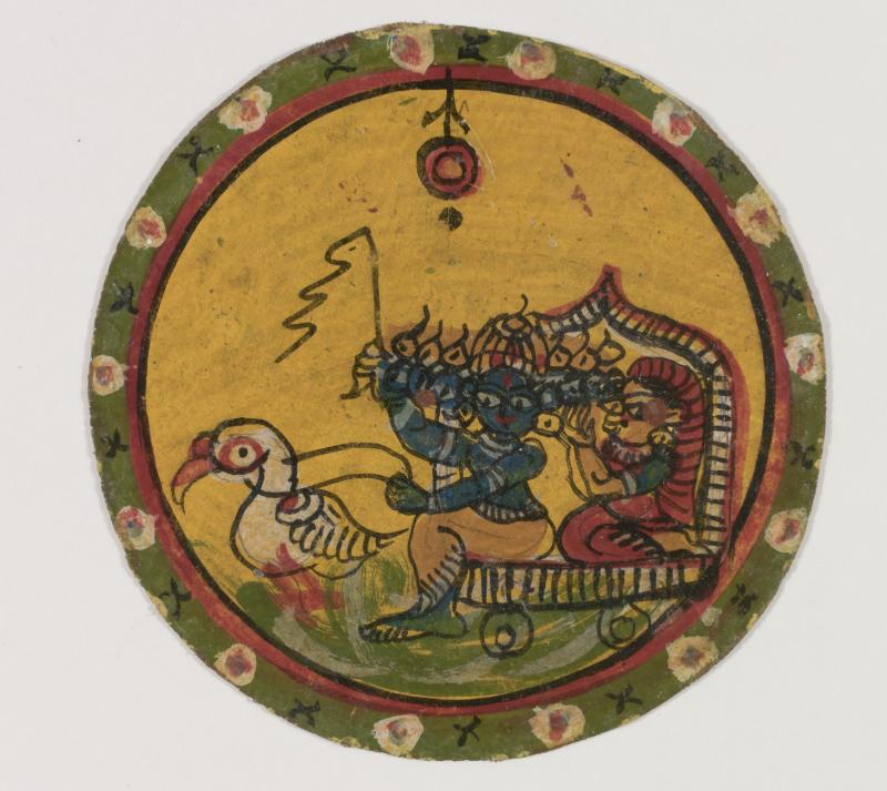 L'Inde et les Ganjifas au Musée Français de la Carte à Jouer jusqu'au 23 avril 2017