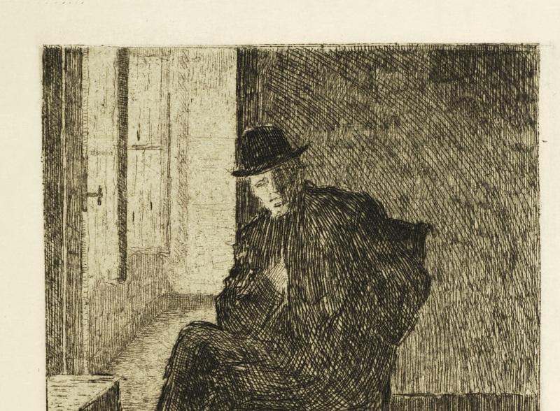 Portrait of Rik Wouters seated- Rik Wouters - Musée Royal des Beaux Arts en Belgique - Bruxelles