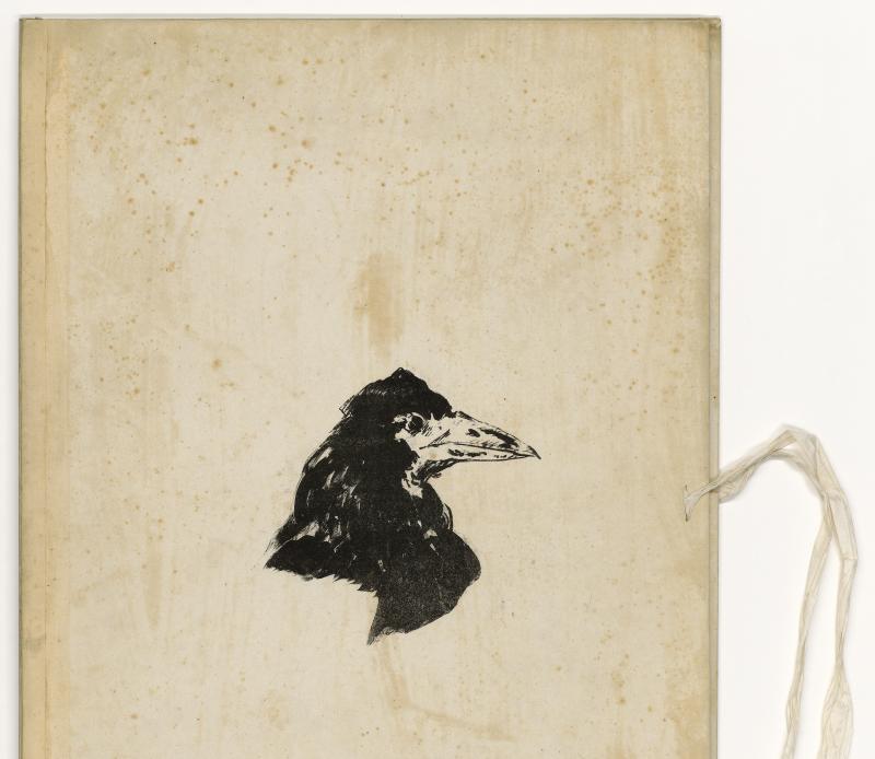 Edgar Alla Poe - le corbeau Manet - Apres Babel, Traduire, Mucem