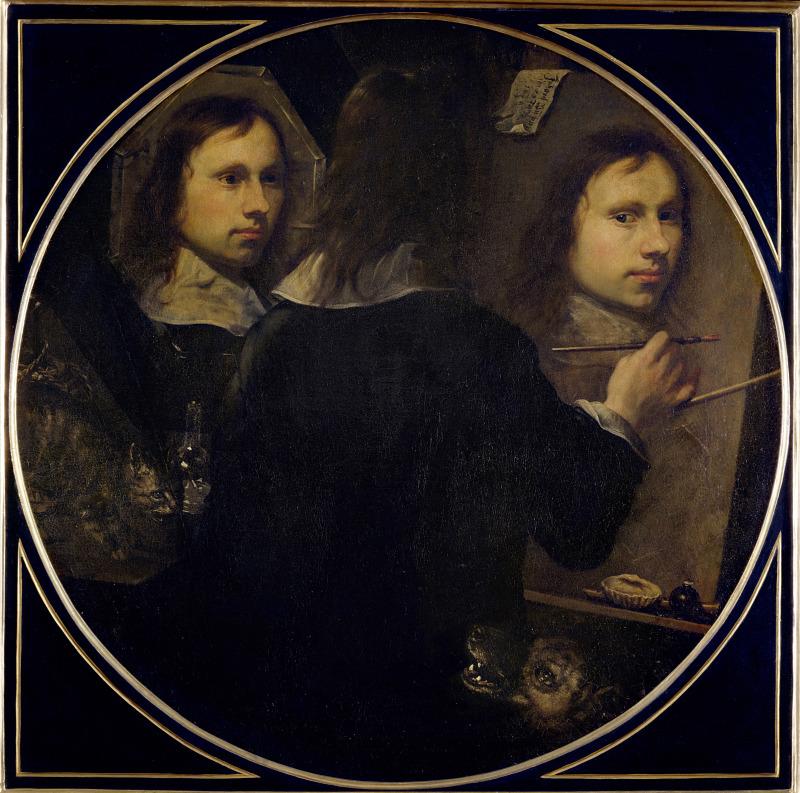 Self Portrait, 1646 Gumpp  - Apres Babel, Traduire, Mucem