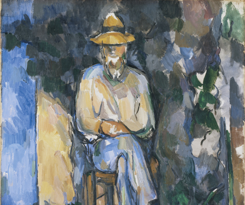 The Gardener Vallier, circa 1906 painting Oil on canvas support: 654 x 549 mm