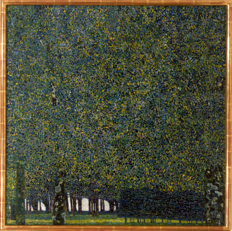Klimt, Gustav (1862-1918): The Park, 1910 (or earlier). New York, Museum of Modern Art (MoMA)*** Permission for usage must be provided in writing from Scala.