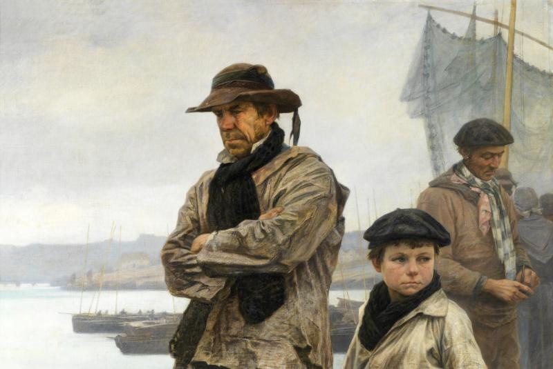 A. GRANCHI-TAYLOR Marins paysans sardiniers Portraits et figures - Musee de Morlaix