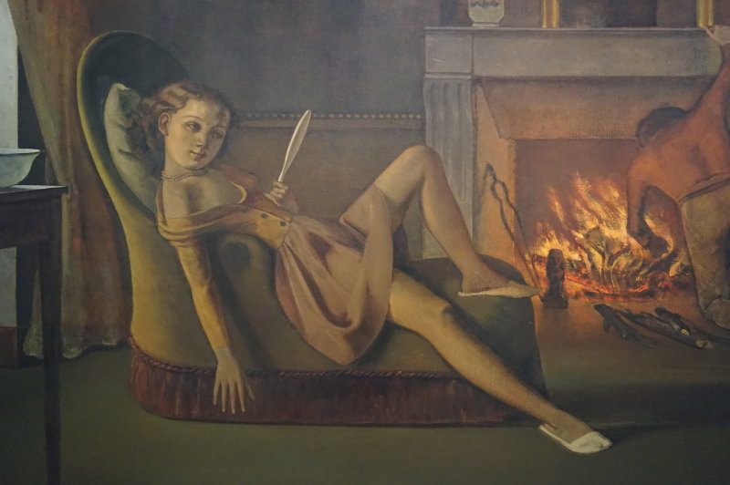 © Balthus © Hirshhorn Museum and Sculpture Garden, Smithsonian Institution, Photography by Cathy Carver