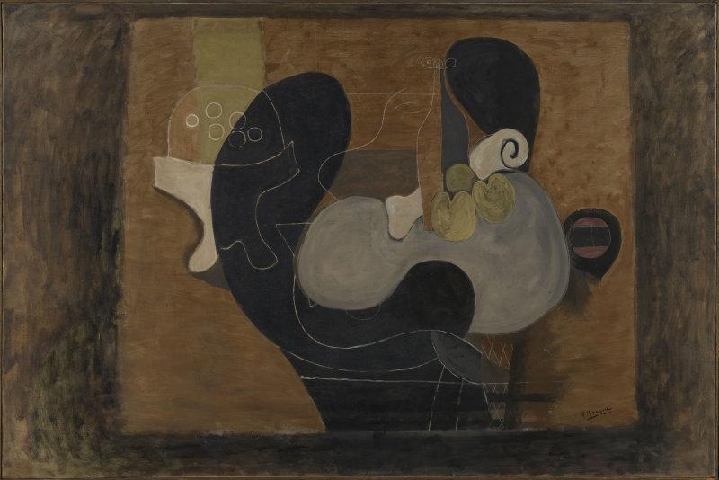 Braque, Grande nature morte brune, 1932