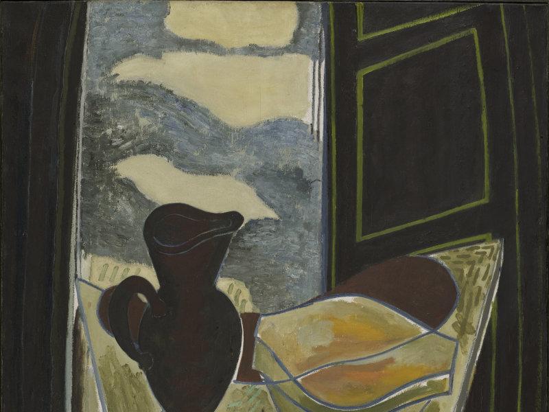 Braque, La Toilette devant la fenêtre, 1942