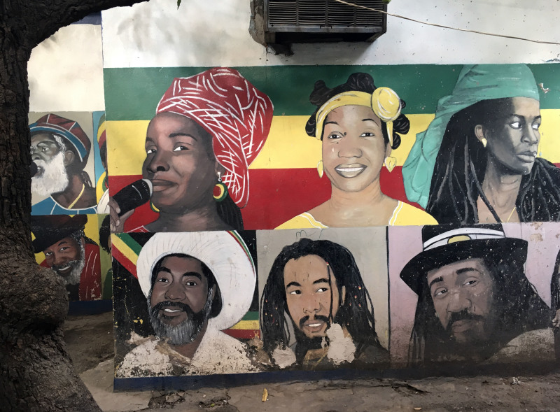 Danny Coxsonstreet art, Jamaica Jamaica, Philharmonie de Paris