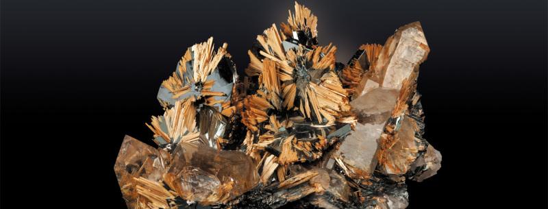 Galerie de Minéralogie au Museum National d'Histoire Naturelle