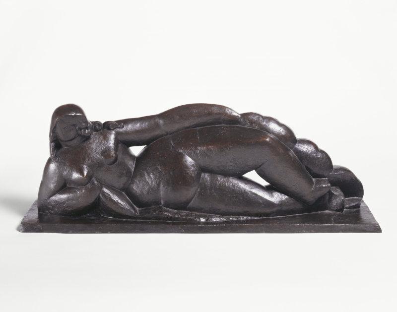 Laurens, Nu couche a la draperie, 1927-1967