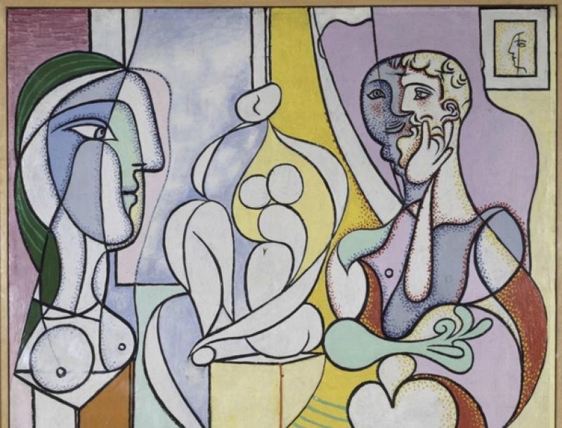 Pablo Picasso, Le Sculpteur, 1931. Huile sur contreplaqué, 128.5 x 96 cm. Dation Pablo Picasso, 1979.