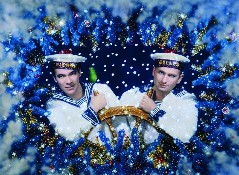 Pierre & Gilles, Les deux marins - 1993 - Musée Communal des Beaux-Arts - Ixelles - Belgique