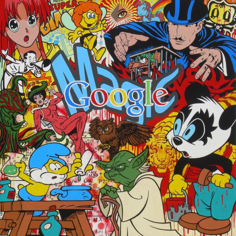 Speedy Graphito, Google Magic, Musee du Touquet Paris-Plage - Jusqu'au 21 mai 2017