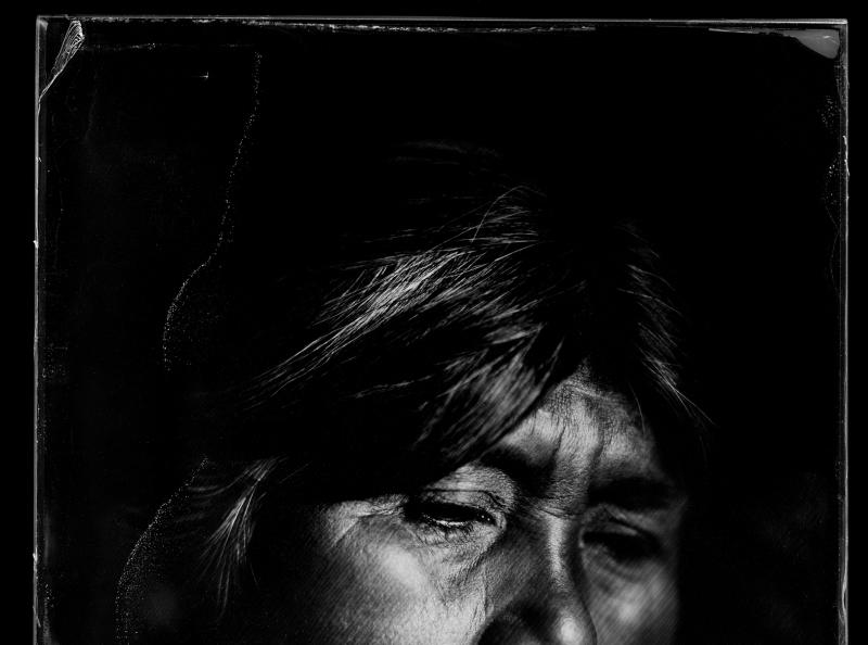 Ñuque - 2015 - Collodion humide sur plaque de verre