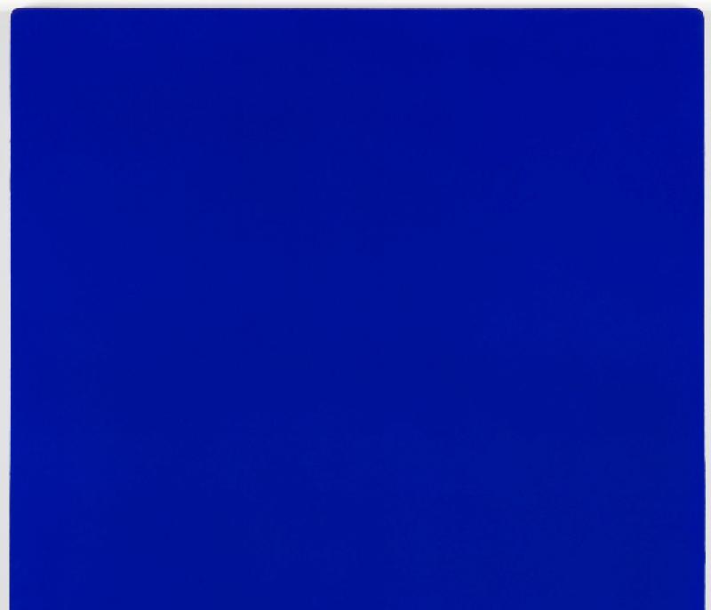 Yves Klein, IKB 3 le monochrome bleu - 1960