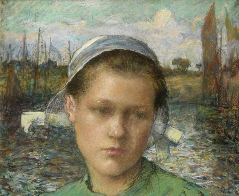 Guinier_Portrait - La modernite en Bretagne - Musee de Pont-Aven