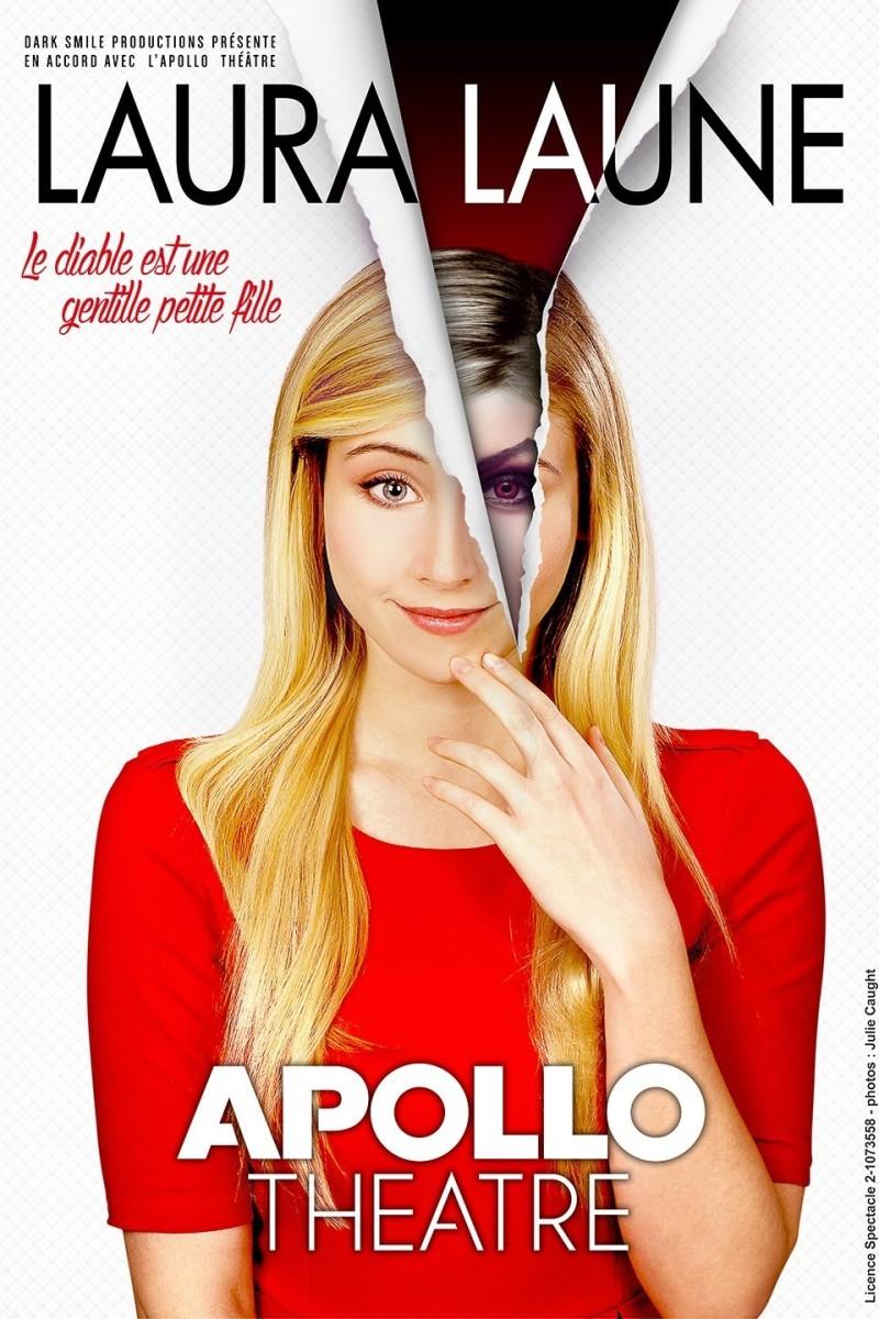 Le diable est une gentille petite fille, laura laune à l'Apollo Théâtre jusqu'au 29 mars 2017