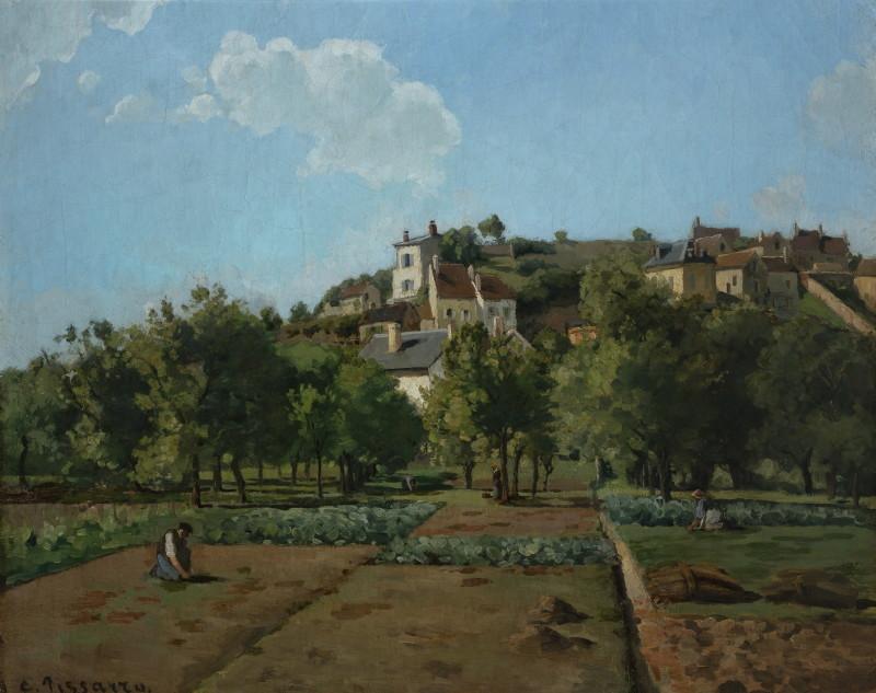 Pissarro, le Jardin à Maubuisson - Pontoise
