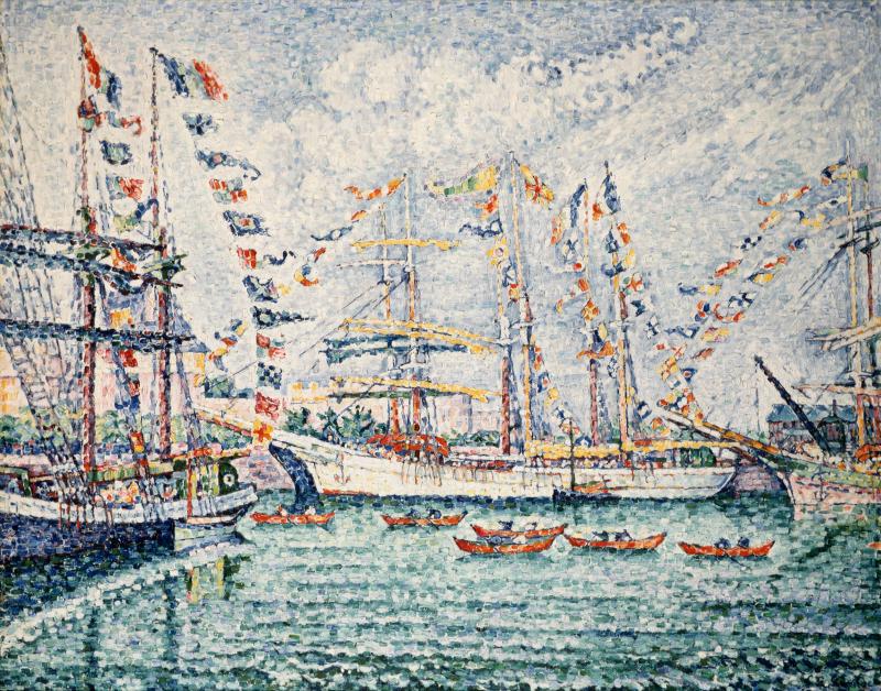 Signac_Peinture - La modernite en Bretagne - Musee de Pont-Aven