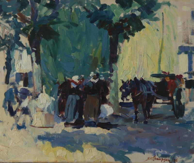 Thompson_Marche - La modernite en Bretagne - Musee de Pont-Aven