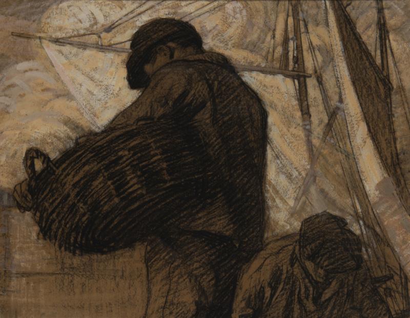Thompson_Marins  - La modernite en Bretagne - Musee de Pont-Aven