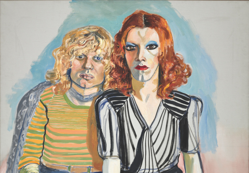 Alice Neel_Jackie-Curtis-and-Ritta-Red