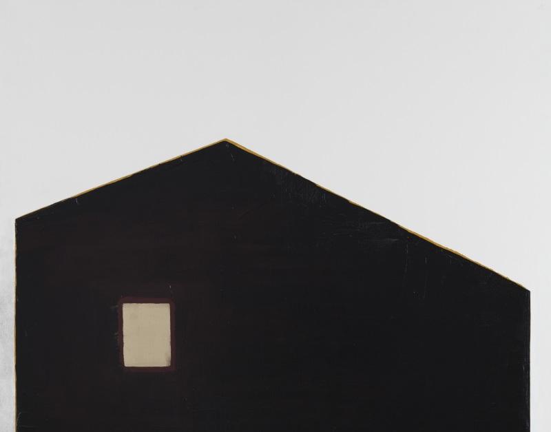 Anna-Eva Bergman, 1976 Maison avec fenêtre d'or - Domaine de Kerguehennec - Bignan