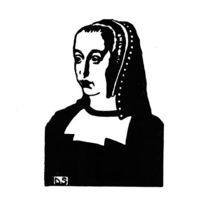 Anne de Bretagne - Sophie Degano - Grace a Elles - Musee des Beaux-Arts de Morlaix