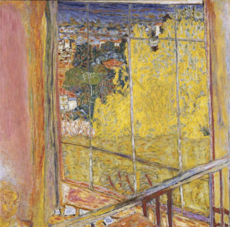 L'atelier au Mimosa, Bonnard Pierre (1867-1947)  - Centre Pompidou Metz